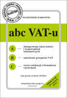 ABC VAT-u 2015 - ebook w formacie pdf
